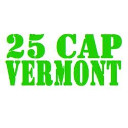 25 Cap Vermont