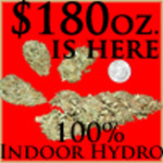 $180oz Medical Marijuana Delivery